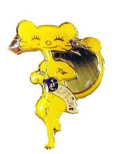Vintage Lakeside Lion's Club Lion Sexy Cat Pin Collectible Gold Plated