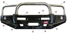 MCC 4WD TRIPLE LOOP STAINLESS STEEL BULLBAR 707-01 HOLDEN RODEO RA7 07-08