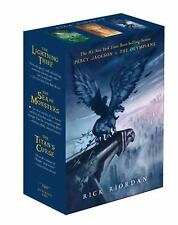 Percy Jackson and the Olympians Paperback Boxed Set Books 1-3