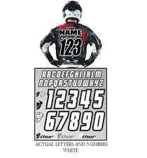 Thor MX Iron Number and name ID KIT for jersey bmx mx motocross atv enduro