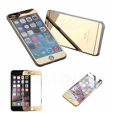 NEW PREMIUM GOLD MIRROR SCREEN PROTECTOR TEMPERED GLASS FOR IPHONE 7