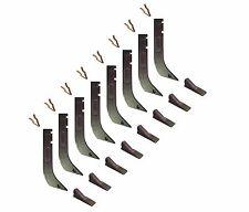 8 - Gannon Scraper Box Shanks w Scarifier Teeth & Clips - H920 , 8075 , K1306