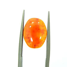 3.60 Ct Beautiful Natural Cabochon Orange Carnelian Gemstone Stone - 8579