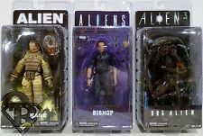 "KANE BISHOP & DOG ALIEN Aliens 7"" inch Movie Figures Set of 3 Series 3 Neca 2014"