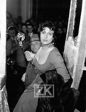 ANNA MAGNANI Carrosse d'Or JEAN RENOIR Photographe Première Italie Photo 1953