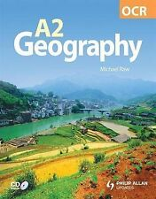 OCR A2 Geography Textbook, Raw, Michael, New Condition