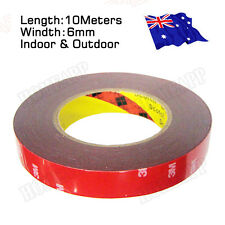 3M Double Face Sided Tape 6mm 10 Meters for Automotive Usage Dashboard Door