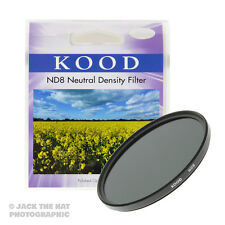Kood 77mm 0.9 Neutral Density ND8 Filter. -3 Stop. Slim Frame. Quality Glass.