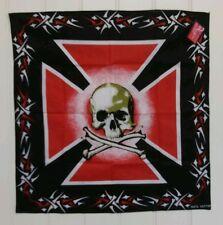 Skull and Cross Bone Bandana - Head Scarf/Bikers Scarf