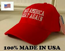 "USA MADE OFFICAL DONALD TRUMP ""MAKE AMERICA GREAT AGAIN"" AUTHENTIC HAT CAP"