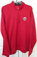 NBA Washington Wizards Red Half Zip Pullover Sweater by Adidas 2XL