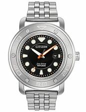 Citizen AW1530-65E Men's Eco Drive Stainless Steel Dual Band 200M Sports Watch