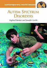 Autism Spectrum Disorders: A Reference Handbook (Contemporary World Is-ExLibrary