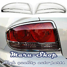 Chrome Rear Tail Light Lamp Cover Trim for 02~05 Hyundai Sonata