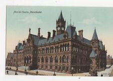 Assize Courts Manchester Vintage Postcard  159a