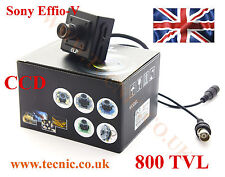 FPV Camera Sony 800 TVL Effio-V 960H Ultra WDR CCD CCTV Board/Cased with OSD