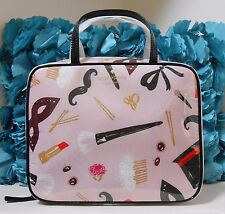 NWT Kate Spade Jazz Things Up Steal The Scene Minna Cosmetic Makeup Bag NEW $128