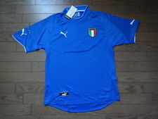 Italy 100% Original Soccer Football Jersey Shirt 2003 Home Still BNWT NEW Rare