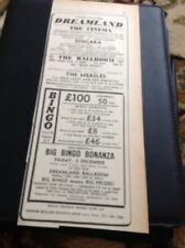 66-4 Ephemera 1965 Advert Margate Dreamland Hollies The Measles Dave Lacey And