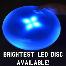Blue LED Flying Light Up Ultimate Frisbee Disk