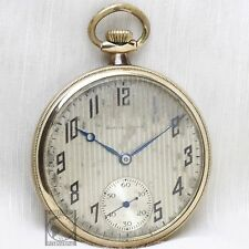 Gold 1923 SOUTH BEND 19 Jewel Mechanical Pocket Watch 12s Antique USA Rustic