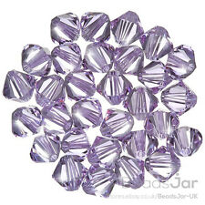 Swarovski 5328 Crystal Xilion Bicone (371) Violet 6mm Beads Pack of 30 (E80/26)