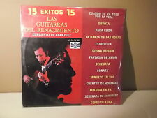 "Las Guitarras del Renacimiento "" 15 Exitos"" Gavota"" Para elisa"" LP SEALED NEW"