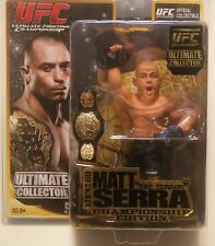 2011 Round 5 UFC 69 Ultimate Collector Championship Edition Matt Serra Figure!