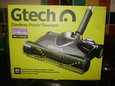 Gtech SW20 Premium Power Cordless Rechargeable Floor .Carpet./Vacuum / Sweeper