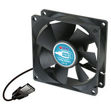 Titan TFD-8025M05Z DC 5V 80mm x 25mm USB External Cooling Fan Plug n Play