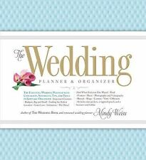 THE WEDDING PLANNER & ORGANIZER - MINDY WEISS (HARDCOVER) NEW