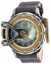 "Invicta 18592 ""Chatham & Dover"" Special Edition Swiss Made Leather Strap Watch"