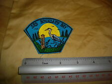 BOY SCOUT AND BEAVER patch 3 rd boundary bay canada