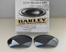 New 100% Authentic Oakley Straight Jacket Sunglasses Black Iridium Lens