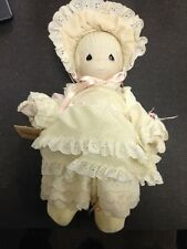 "PRECIOUS MOMENTS DOLL ""KRISTY""  1983 PORCELAIN/CLOTH"