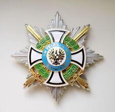 Königlicher Hausorden der Hohenzollern Bruststern der Komture mit Schwertern WK1