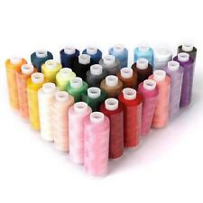 30pcs 250 Yard Mixed Colors Polyester Spool Sewing Thread For Hand Machine Hot