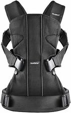 Baby Bjorn (BABYBJORN) Baby Carrier One AIR Black Mesh