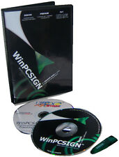 NEW WinPCSIGN BASIC 2009 for Vinyl Plotter, Cutter Software TITAN USCUTTER GCC