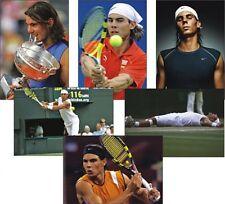 Rafa Nadal Tenis Leyenda Juego de 6 Tarjeta postal Juego