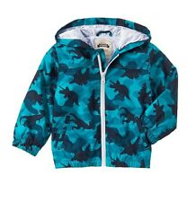 GYMBOREE FIELD EXPEDITION CAMO DINOSAUR WATERPROOF JACKET NWT 4T-5T Fall Spring