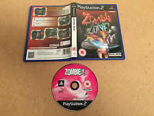 Zombie ZONE-PLAYSTATION 2 (PS2-Regno Unito PAL) testato / lavoro