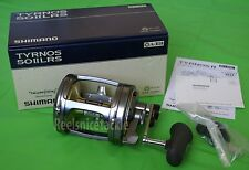 NEW SHIMANO TYRNOS 50II 50 II LRS TYR50IILRS 2 SPEED CONVENTIONAL FREE 1-3 DAYS