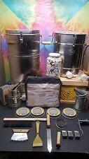 beekeeping,bottling, trap,extractor,bee suit,smoker,feeder,hive tools,&more