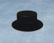 Black Hat Dollhouse Miniature Dolls Clothing Accessories