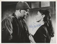 Telly Savalas Battle Of The Bulge SIGNED AUTOGRAPH UACC AFTAL