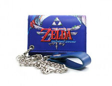 Nintendo LEGEND OF ZELDA SKYWARD SWORD Triforce Mens WALLET Chain Wii Game LINK