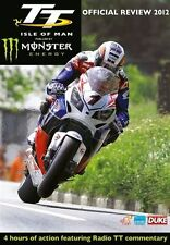 TT ISLE OF MAN 2012 OFFICIAL REVIEW DVD NEW..ROAD RACING BIKE ROADBIKE MOTOGP
