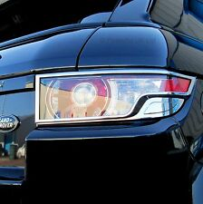 Chrome rear tail light lamp trim covers Range Rover Evoque pure prestige dynami