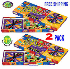 2 BOX's 4th EDITION   BEAN BOOZLED SPINNER GAME 3.5oz JELLY BELLY.
